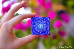 Mandalita- Mini Mandala (Classic Blue)