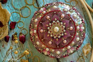Rosalinda – Mandala Stone (Casted Stone)